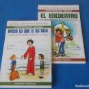 Libros de segunda mano: CATECISMO INFANTIL . LIBRO + CUADERNO DE ACTIVIDADES . EDICIONES PAULINAS 1988. Lote 160643002