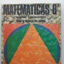 Libros de segunda mano: MATEMÁTICAS 6º - EGB - LIBRO DE CONSULTA DEL ALUMNO - ED. ANAYA - 1973. Lote 160973042