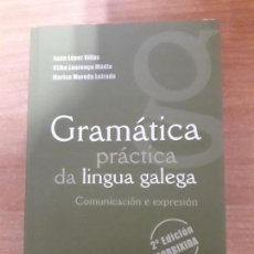 Libros de segunda mano: GRAMÁTICA PRÁCTICA DA LINGUA GALEGA. Lote 161895082