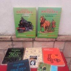Gebrauchte Bücher - Lote de libros de texto EGB - 162456194