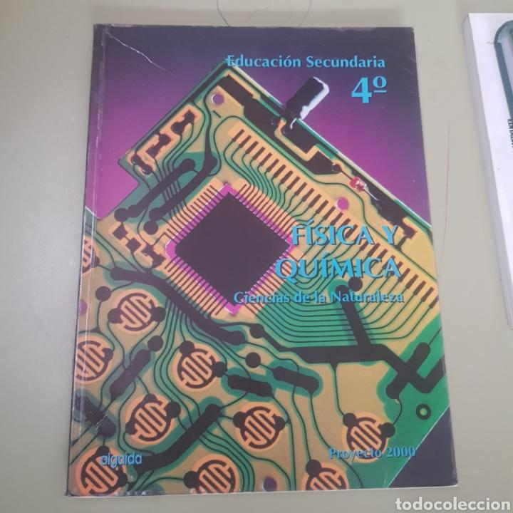 FISICA Y QUIMICA - CIENCIAS DE LA NATURALEZA - EDUCACION SECUNDARIA - 4º - ALGAIDA - TDK50 (Libros de Segunda Mano - Libros de Texto )