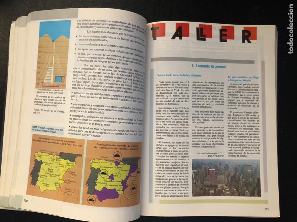 Libros de segunda mano: Libro Cosmos de geografía económica Segundo de BUP. 1989 - Foto 5 - 163564496