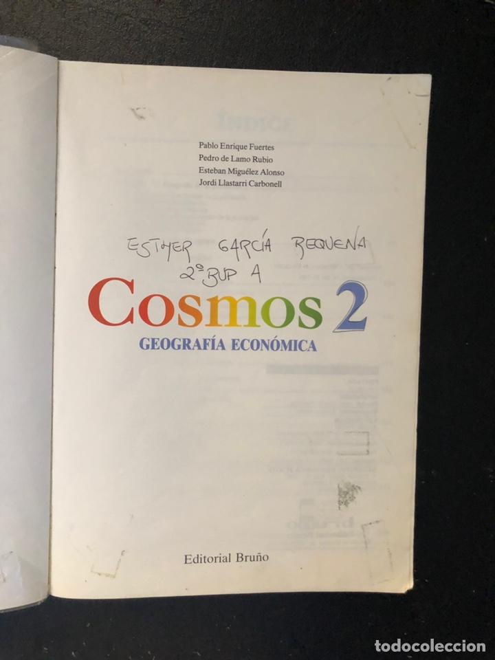 Libros de segunda mano: Libro Cosmos de geografía económica Segundo de BUP. 1989 - Foto 10 - 163564496