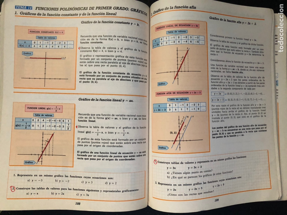 Libros de segunda mano: LIBRO MATEMÁTICAS OCTAVO DE EGB. 1984 - Foto 5 - 163565038