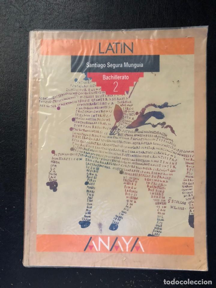 LIBRO DE TEXTO DE LATÍN SEGUNDO DE BUP. 1991 (Libros de Segunda Mano - Libros de Texto )