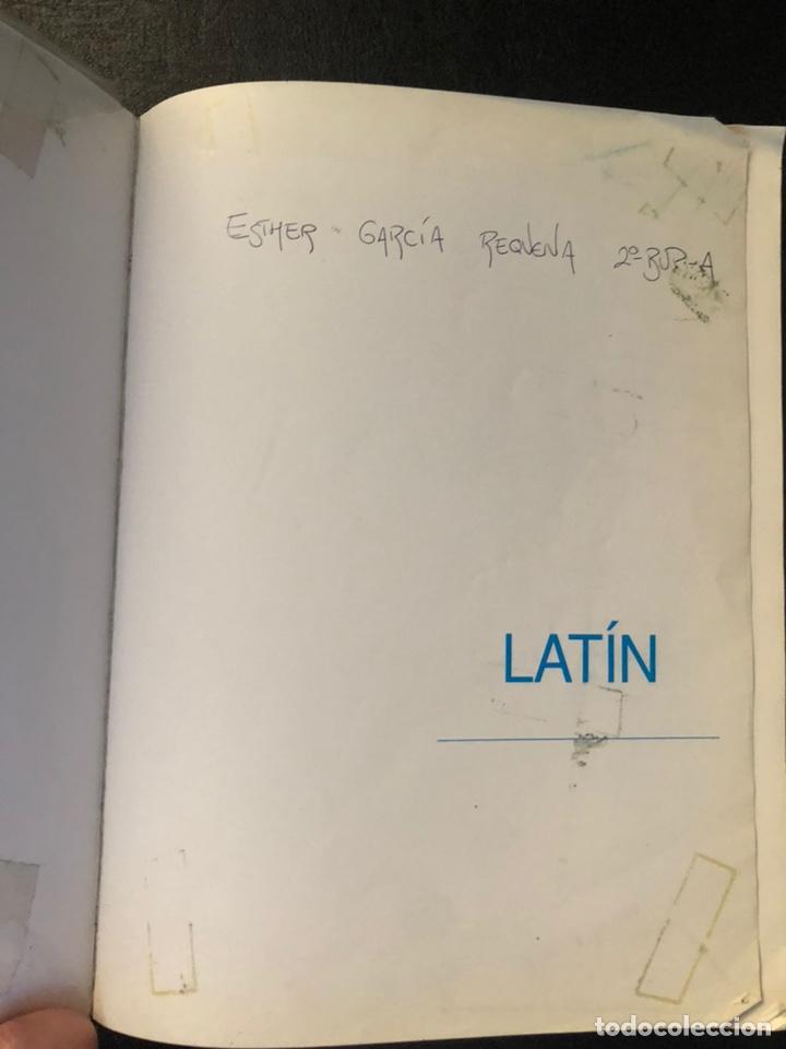 Libros de segunda mano: LIBRO DE TEXTO DE LATÍN SEGUNDO DE BUP. 1991 - Foto 3 - 171191138