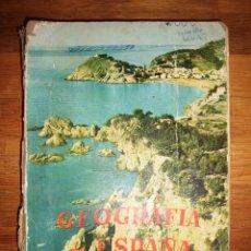 Libros de segunda mano: ZUBIA, ANTONIO MARÍA. GEOGRAFÍA DE ESPAÑA. PRIMER CURSO. Lote 163602166