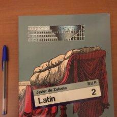 Libros de segunda mano: LIBRO LATÍN 2 BUP. Lote 163798929