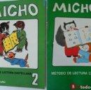 Libros de segunda mano: LOTE DOS CARTILLAS MICHO 2 AÑO 1989 Y AÑO 1994. DIFÍCILES, COMO NUEVOS.. Lote 164138846