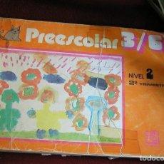 Libros de segunda mano - PREESCOLAR 3/6 NIVEL 2 SEGUNDO TRIMESTRE EDITORIAL CINCEL AÑO 1981 - 164745714