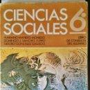 Libros de segunda mano: CIENCIAS SOCIALES 6 EGB ANAYA AÑOS 70. Lote 164979180