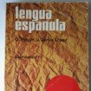 Libros de segunda mano: LENGUA ESPAÑOLA 1 BACHILLERATO TEIDE. Lote 165415153