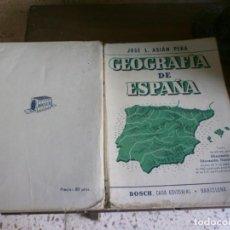 Second hand books - GEOGRAFIA DE ESPAÑA 1962 BOSCH CASA EDITORIAL - 165747758