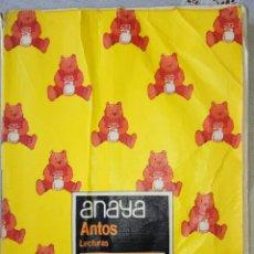 Libros de segunda mano: ANAYA ANTOS LECTURAS. EQUIPO TROPOS. 1° EGB. BORJA Y PANCETE. AÑO 1984. Lote 165860325