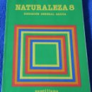 Libros de segunda mano: NATURALEZA 8 - SANTILLANA (1986). Lote 166791770