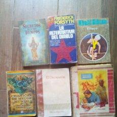 Libros de segunda mano: LOTE DE LIBROS ANTIGUOS. Lote 167063132