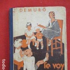 Libros de segunda mano: TE VOY A CONTAR MAS CUENTOS DE J. DE MURO LIBRO DE LECTURAS .. Lote 167624472