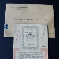 Libros de segunda mano: NUEVAS LETRAS - METODO EZQUERRA / CARTILLA PUBLICIDAD ENVIADA A LOS MAESTROS DE ESCUELA/ AÑOS 60. Lote 167723660