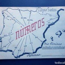 Libros de segunda mano: NÚMEROS / PRIMER TEXTO DE MATEMATICA ELEMENTAL / ISIDRO LOPEZ SANTOS -COLEGIO DIVINO MAESTRO ZAMORA. Lote 167734852