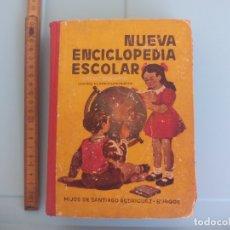 Libros de segunda mano: NUEVA ENCICLOPEDIA ESCOLAR GRADO SEGUNDO HIJOS DE SANTIAGO RODRÍGUEZ, BURGOS, 1954. Lote 167840712