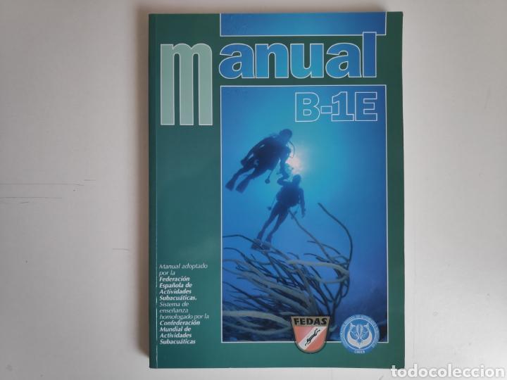 Libros de segunda mano: Libro. Manual de buceo B-1E. FEDAS - Foto 2 - 168083614