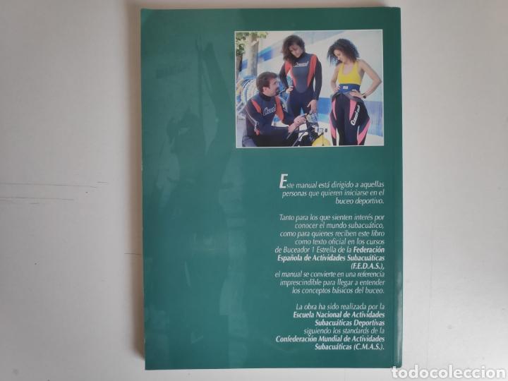 Libros de segunda mano: Libro. Manual de buceo B-1E. FEDAS - Foto 3 - 168083614