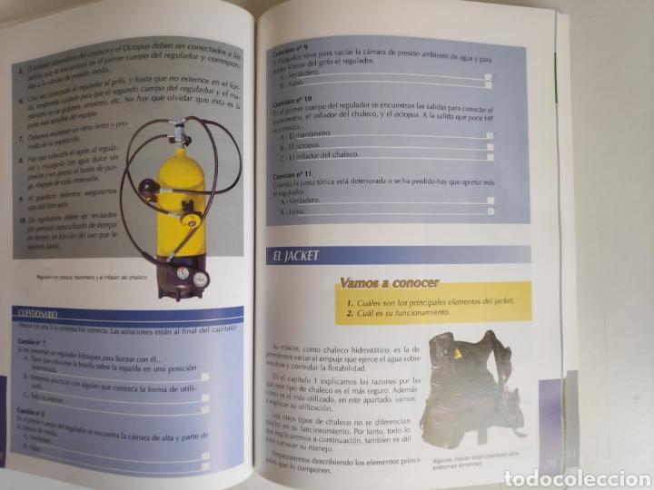 Libros de segunda mano: Libro. Manual de buceo B-1E. FEDAS - Foto 4 - 168083614