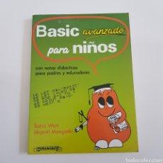Livros em segunda mão: BASIC AVANZADO PARA NIÑOS - PARANINFO - TDK40. Lote 168586800