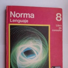 Libros de segunda mano: NORMA LENGUAJE 8. SANTILLANA. 1975.. Lote 168747008