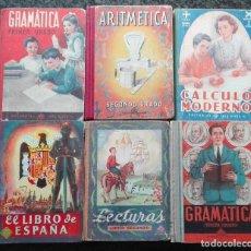 Libros de segunda mano: DIEZ LIBROS DE TEXTO ANTIGUOS DE LUIS VIVES, INCLUYENDO -EL LIBRO DE ESPAÑA-. Lote 168747624