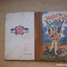 Libros de segunda mano: RELIGIONLIBRO DE TEXTO DE HISTORIA SAGRADA DE EDICIONES. Lote 169063948