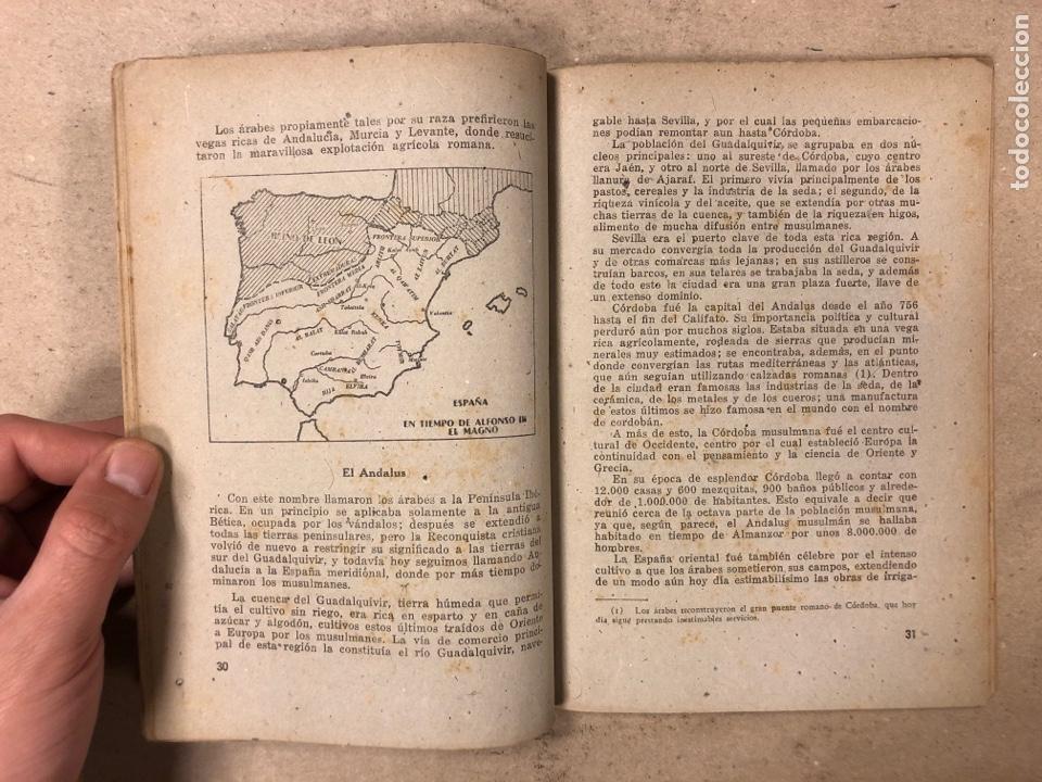Libros de segunda mano: GEOGRAFÍA HISTÓRICA DE ESPAÑA, MARRUECOS Y COLONIAS. 5º BACHILLERATO. 1941. MANUEL TERAN Y GONZALO M - Foto 4 - 169108580