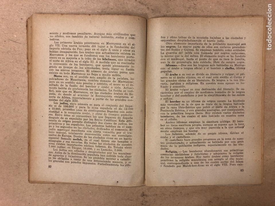 Libros de segunda mano: GEOGRAFÍA HISTÓRICA DE ESPAÑA, MARRUECOS Y COLONIAS. 5º BACHILLERATO. 1941. MANUEL TERAN Y GONZALO M - Foto 6 - 169108580