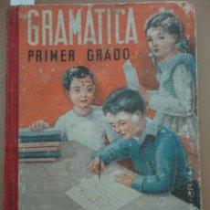 Libros de segunda mano: GRAMÁTICA PRIMER GRADO - LUIS VIVES. Lote 169233768