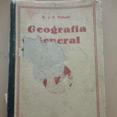Libros de segunda mano: GEOGRAFÍA GENERAL - PALUZIE. Lote 169235128