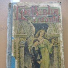 Libros de segunda mano: LA BÍBLIA INFANTIL - PALUZIE. Lote 169235620
