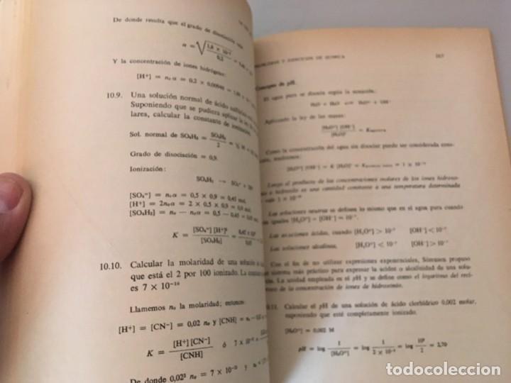 Libros de segunda mano: PROBLEMAS Y EJERCICIOS DE QUIMICA , ECIR , A. ESTEVE SEVILLA , M. D. ESTEVE RODRIGUEZ - Foto 3 - 169287904