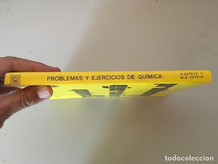 Libros de segunda mano: PROBLEMAS Y EJERCICIOS DE QUIMICA , ECIR , A. ESTEVE SEVILLA , M. D. ESTEVE RODRIGUEZ - Foto 5 - 169287904