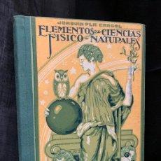 Libros de segunda mano: ELEMENTOS DE CIENCIAS FISICO-NATURALES AÑO 1959 MIDE 18X13CMS Y 400PAGS. IMPECABLE. Lote 169289768
