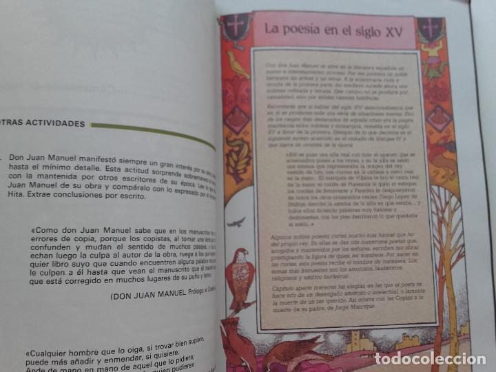 Libros de segunda mano: ANTOS - LECTURAS Y COMENTARIOS 8 - EQUIPO TROPOS - 8º EGB - ANAYA - 1985 - Foto 2 - 169463432