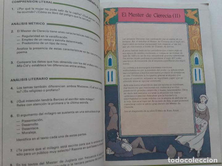 Libros de segunda mano: ANTOS - LECTURAS Y COMENTARIOS 8 - EQUIPO TROPOS - 8º EGB - ANAYA - 1985 - Foto 3 - 169463432