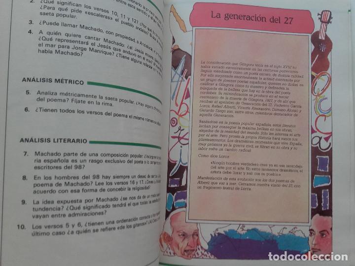 Libros de segunda mano: ANTOS - LECTURAS Y COMENTARIOS 8 - EQUIPO TROPOS - 8º EGB - ANAYA - 1985 - Foto 5 - 169463432