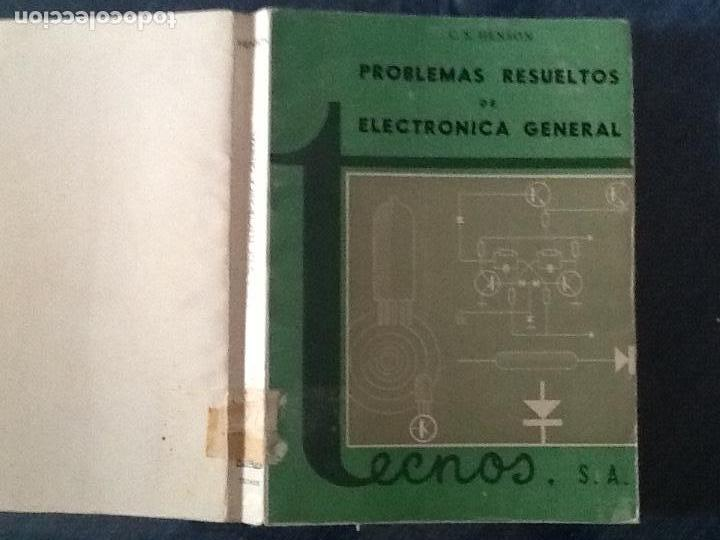 Libros de segunda mano: PROBLEMAS RESUELTOS DE ELECTRONICA GENERAL. C. S. HENSON. - Foto 4 - 169542620