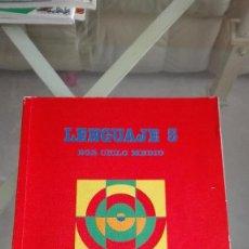 Libros de segunda mano: SANTILLANA LENGUAJE 5 EGB CICLO MEDIO. Lote 169625808
