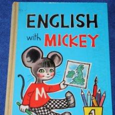 Libros de segunda mano: ENGLISH WITH MICKEY - EDICIONES SM (1967). Lote 169708308