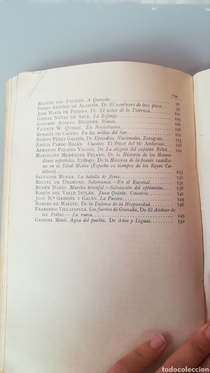 Libros de segunda mano: Antología de la Literatura Española. 1938. - Foto 5 - 169791392