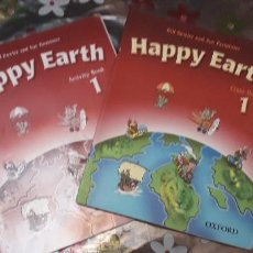 Libros de segunda mano: 11-00324 ISBN 978-0-19-433846-2 Y 9 - HAPPY EARTH 1-USADOS. Lote 170014560
