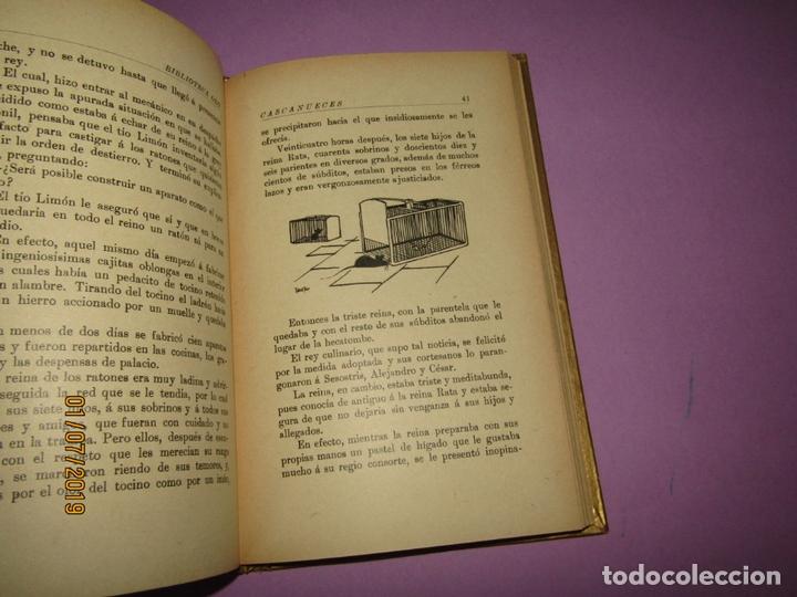 Libros de segunda mano: Antiguo CASCANUECES - EL JUGUETE ANIMADO de Hijos de Santiago Rodríguez - Burgos - Año 1930-40s. - Foto 4 - 170111068
