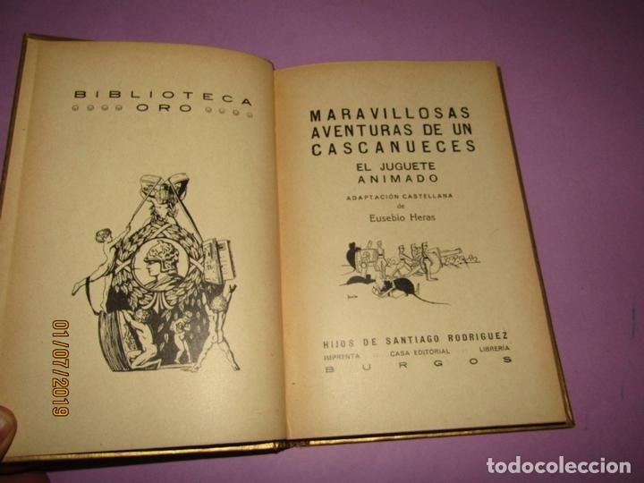 Libros de segunda mano: Antiguo CASCANUECES - EL JUGUETE ANIMADO de Hijos de Santiago Rodríguez - Burgos - Año 1930-40s. - Foto 5 - 170111068