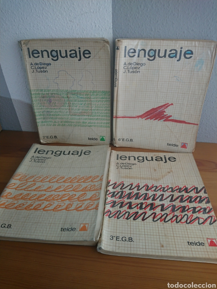 LENGUAJE EDITORIAL TEIDE 3° 4° 6° Y 7° EGB (Libros de Segunda Mano - Libros de Texto )